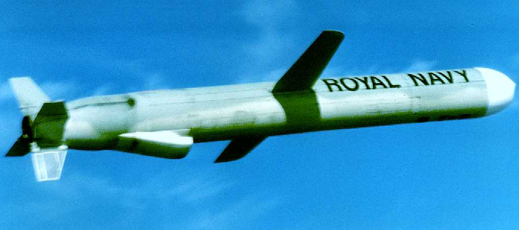 Royal Navy cruise missile MOD