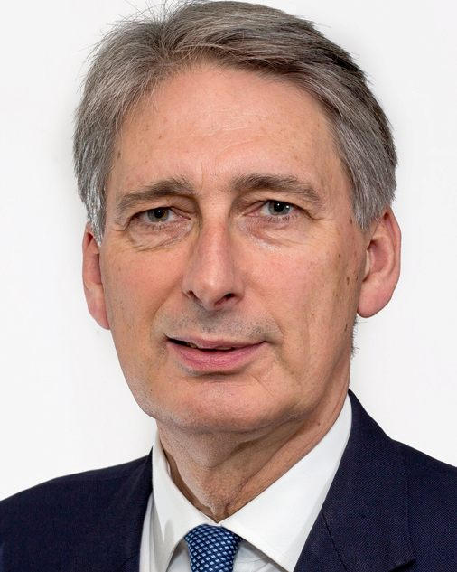 Philip Hammond, secretary of state for defence, MOD