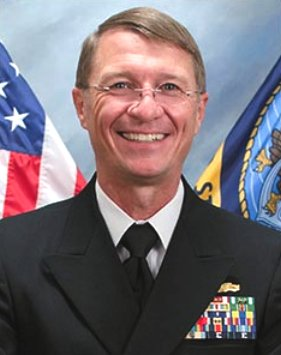 "Rear Admiral Lawrence ""Larry"" B Jackson Deputy Commander"