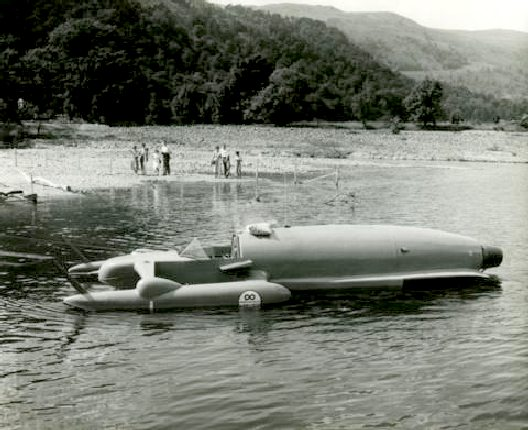 K7 at Ulswater in 1955