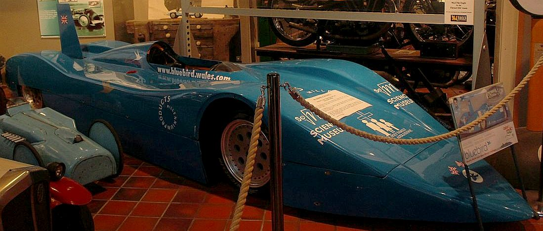 The Formula Ford that Chris Humberstone converted in a rush for Bluebird Electric Limited