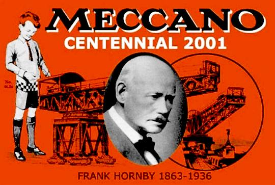Meccano centential 2001, poster, Frank Hornby