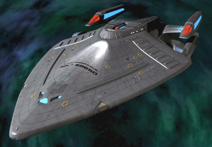 USS BLUEBIRD STAR SPACE SHIPS ENTERPRISE TREK VOYAGE HOME