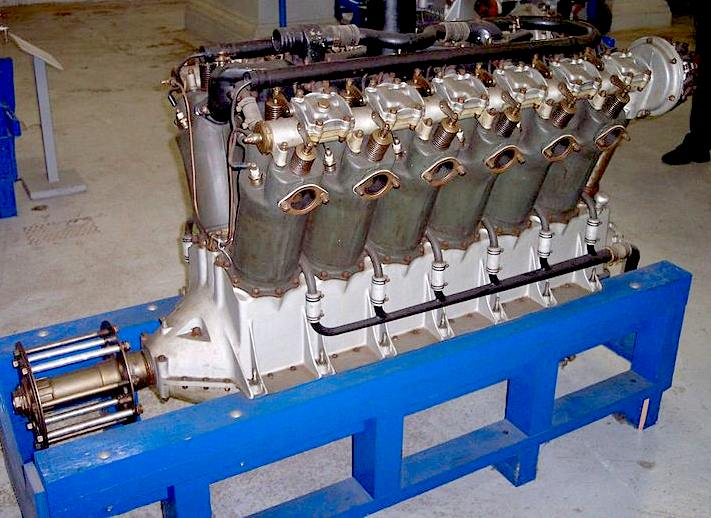 Liberty V12 aircraft engine