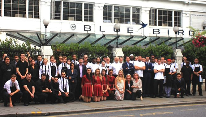 The Bluebird Restaurant, 350 Kings Road, London, SW3 5UU