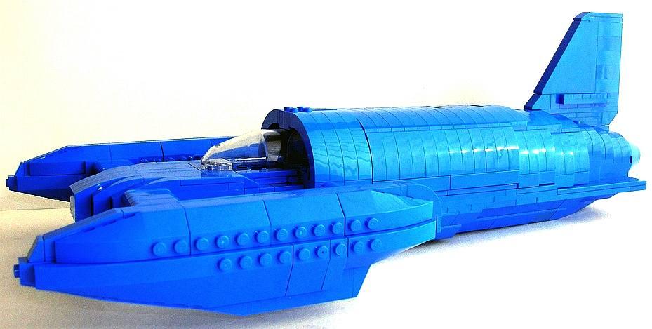 BLUEBIRD K7 JET HYDROPLANE WORLD WATER SPEED RECORD BOAT