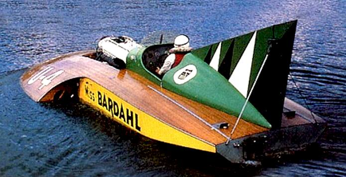 Miss Bardahl, US hydroplane racer with RR engine