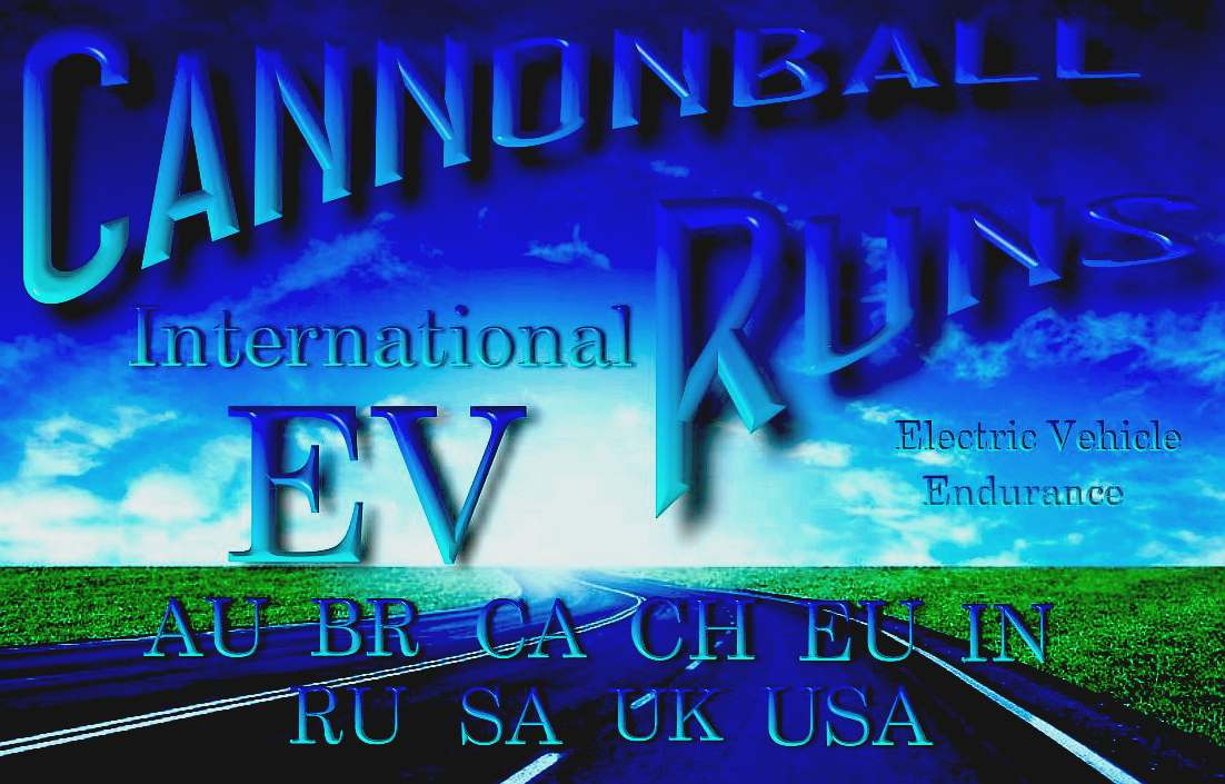 Cannonball International ZEV official road run registration rules