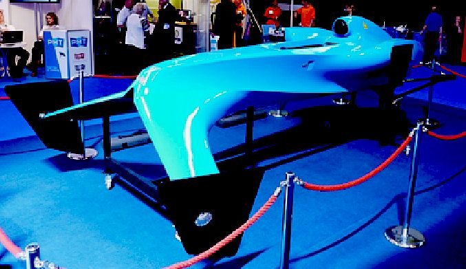 Proposed Bluebird hydroplane, to be electrically powered