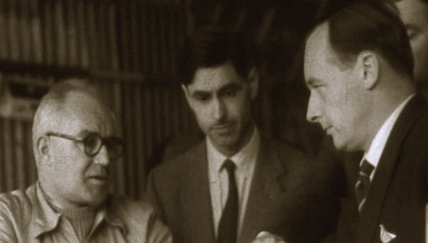 Leo Villa, Ken Norris and Donald Campbell