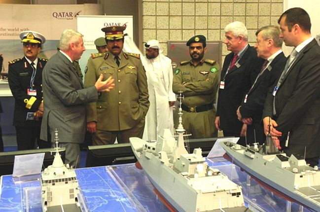 Qatar DCNS stand major-general Hamad Bin Ali al Attiyah chief of staff armed forces