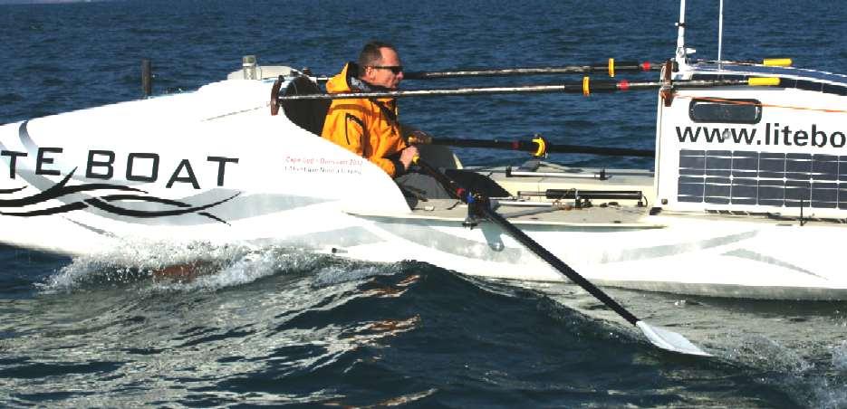 Solar Boat Race Saute Mouton Sailing Around The World