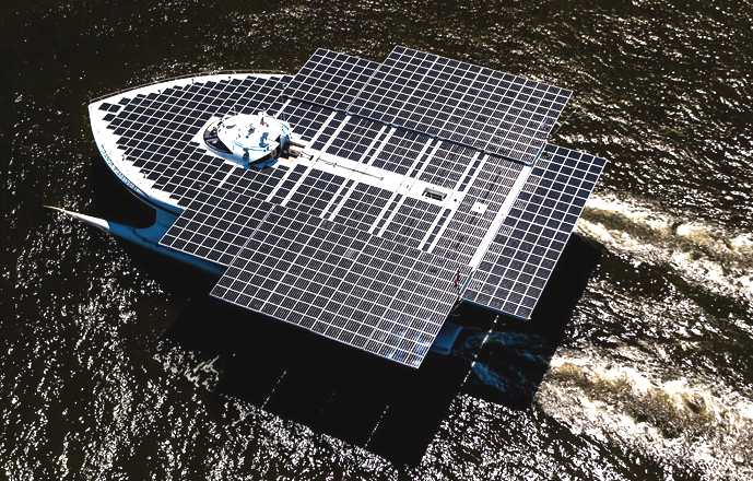 PlanetSolar, the largest solar boat in the world
