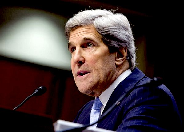 John Kerry, Secretary of State for climate change