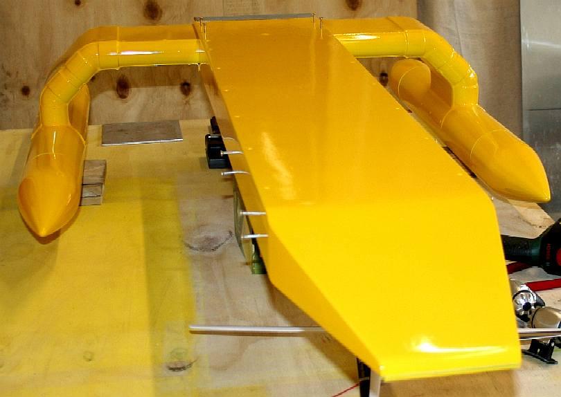 Seavax Development Model 1 20th Scale Solar Powered