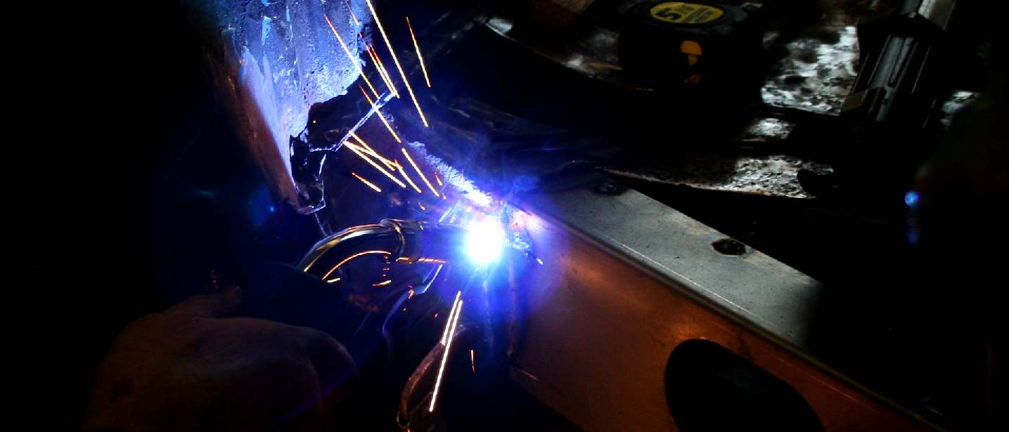 R-Tech welding equipment gives superior welds in steel and aluminium