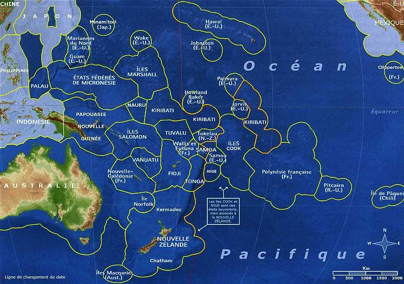 How Many Islands Are In The Pacific Ocean