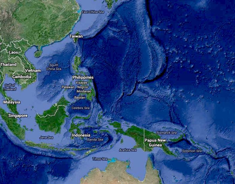 PALAU ISLANDS MARINE SANCTUARY FISHING POACHING VEITNAMESE ... Pacific Ocean Underwater Map