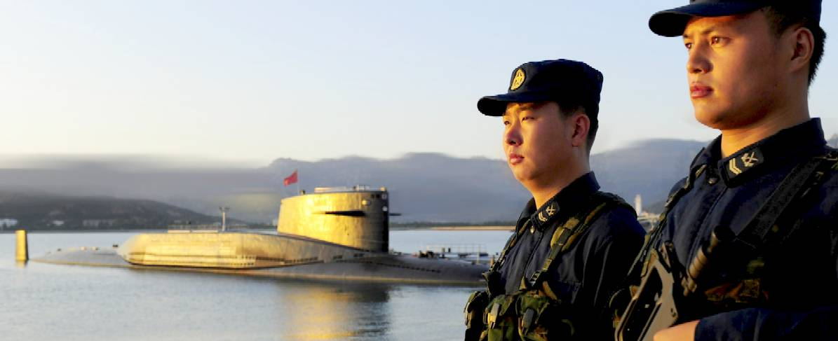 The Chinese Navy gave an open day to the press to strut their stuff